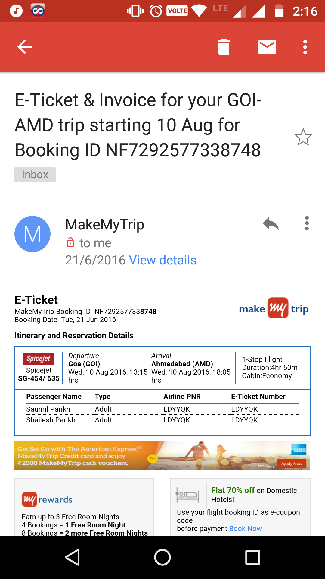 MakeMyTrip Complaints: No Refunds Or Changes Of Name