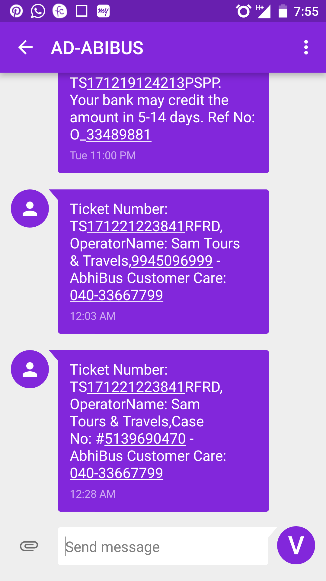 Sam Tours And Travels Contact Number
